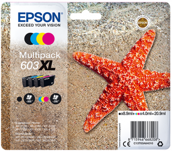 Tintas serie Epson 603